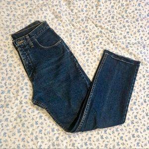 Wrangler high rise jeans 28